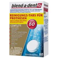 Blend-a-dent Frisch tabletes protēžu tīrīšanai x60 new   Multum