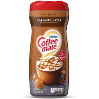 Coffee Mate Pwdr Caramel Latte kafijas pulveris ar karameles garšu 425g   Multum