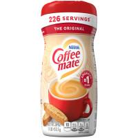 Coffee Mate The Original kafijas pulveris, bez glutēna, bez laktozes, nesatur taukus, 311.8g   Multum