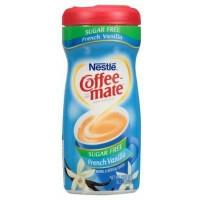 Coffee Mate French Vanilla kafijas pulveris bez cukura, bez glutēna, ar vaniļas garšu 289g   Multum