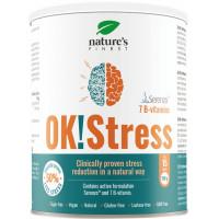 Nature's finest OK!Stress - klīniksi pierādīts produkts, kas samazina stresa līmeni dabiskā veidā 150g | Multum
