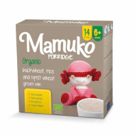 Mamuko Bio griķu, rīsu, speltas kviešu putra 240g | Multum