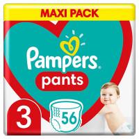 Pampers pants #3 Maxi x56 (6-11kg)   Multum