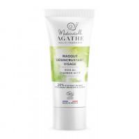 Mademoiselle Agathe attīroša BIO maska sejai ar aktivizēto ogli un 20% gliemežu mucīna ekstrakta 75ml | Multum