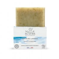 Mademoiselle Agathe BIO lavandas ziepes ar 11% gliemežu mucīna ekstraktu 100g   Multum