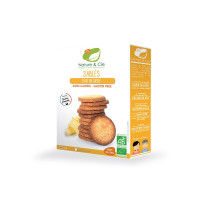 Nature&Cie bezglutēna BIO biskvīta cepumi ar sviestu, 135g | Multum