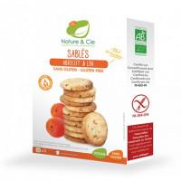 Nature&Cie bezglutēna BIO biskvīta cepumi ar aprikozēm, 135g | Multum