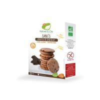 Nature&Cie bezglutēna BIO biskvīta cepumi ar šokolādes gabaliņiem, 130g | Multum