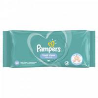 Pampers Fresh Clean mitrās salvetes x52 | Multum