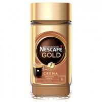 Nescafe Gold Crema Smooth Taste šķīstošā kafija100g   Multum