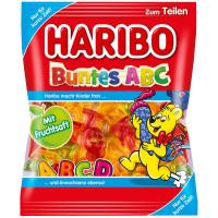 Haribo Buntes ABC želejkonfektes 175g | Multum