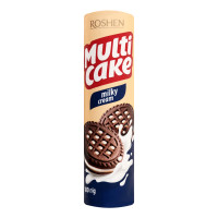 ROSHEN Multicake cepumi ar piena krēma pildījumu 180g | Multum