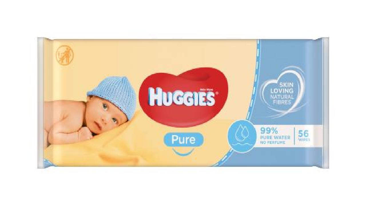 Huggies Pure mitrās salvetes 56gb