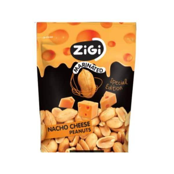 Rieksti-Zemesrieksti Zigi Nacho Cheese 70gr | Multum.lv