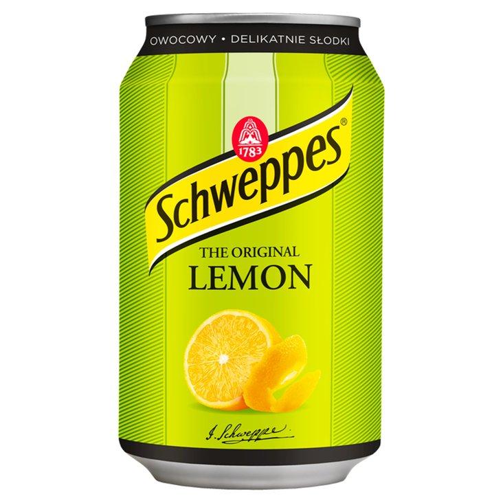 Schweppes citronu bundžā 0.33l | Multum.lv