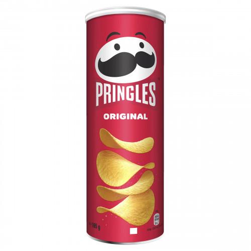 PRINGLES Original kartupeļu čipsi 165g | Multum