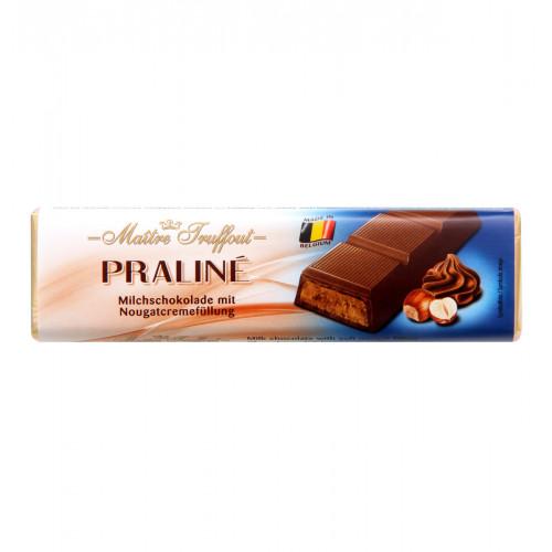 Maitre Truffout Piena šokolādes batoniņš ar riekstiem 75g   Multum