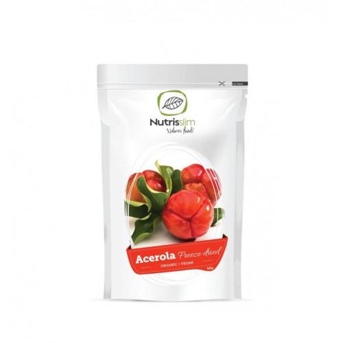 Nature's finest BIO Acerola powder. BIO acerolas ķiršu pulveris 60g | Multum
