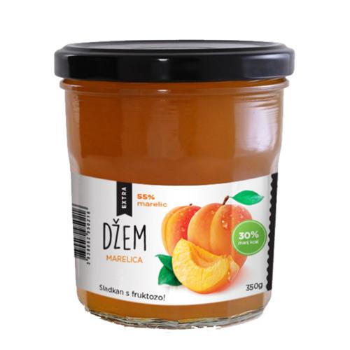 Nature's finest BIO Apricot spread with Fructose. BIO aprikožu krēms ar fruktozi. 350g | Multum