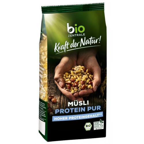 BioZentrale BIO brokastu pārslu proteīnu muslis 500g | Multum
