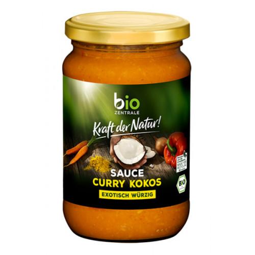 BioZentrale BIO vegānā karija-kokosa mērce 340ml | Multum