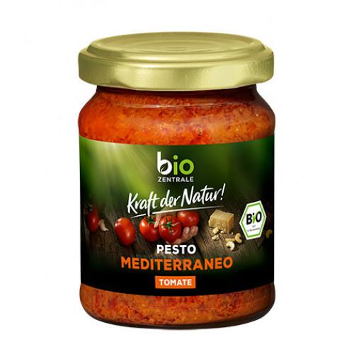BioZentrale BIO Mediterranean pesto - tomātu un balzamico pesto 125g | Multum