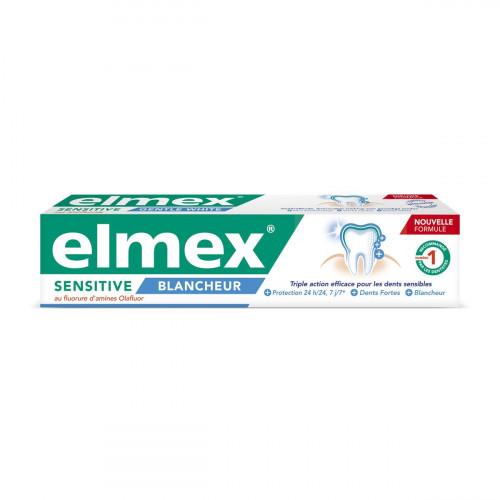 Elmex Sensitive Blancheur baltinoša zobu pasta 75ml | Multum