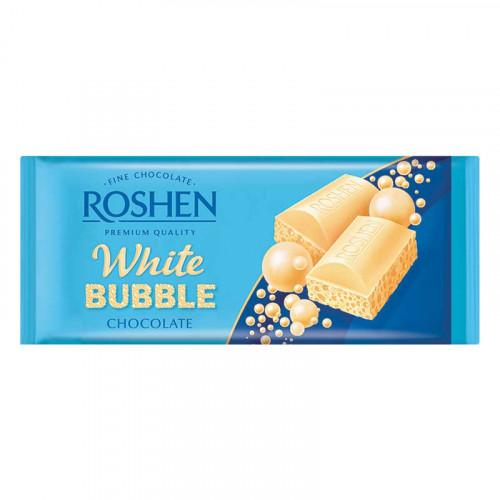 ROSHEN porainā baltā šokolāde 80g | Multum