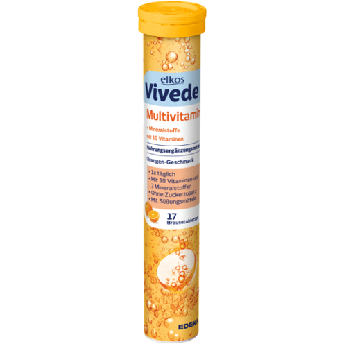 Elkos Vivede Multivitamin tabletes x17 102g