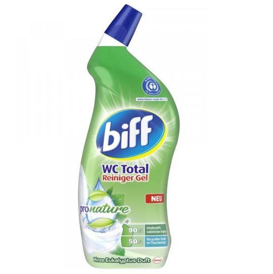 Biff Pronature tualetes poda tīrīšanas līdzeklis ar piparmētras aromātu 750ml   Multum.lv