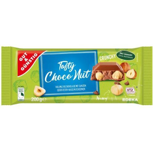G&G Tasty Choco Riekstu šokolāde 200g