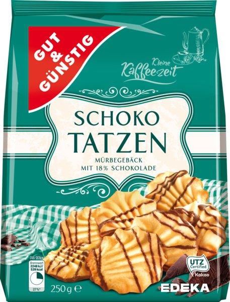 G&G Schoko Tatzen cepumi 250g
