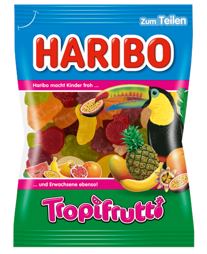 Haribo Tropi Frutti želejas konfektes 200g