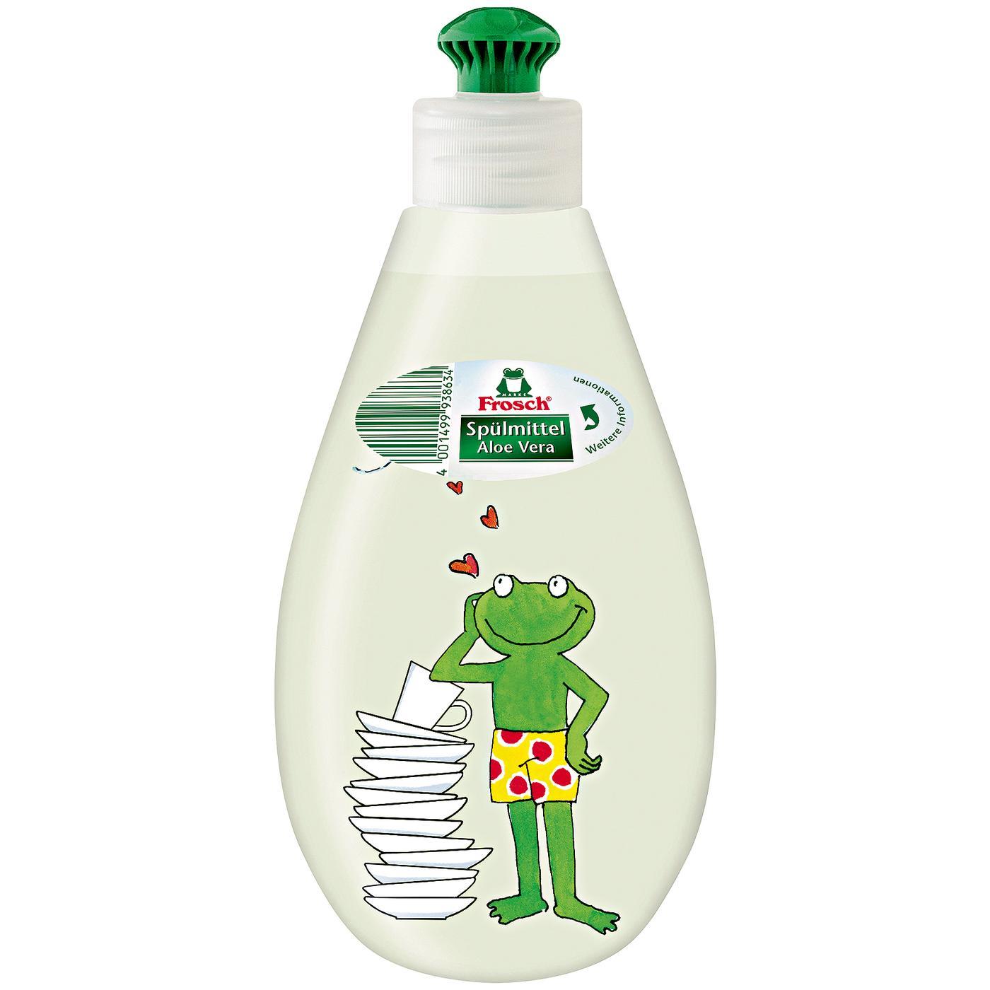 Frosch Aloe Vera trauku mazgāšanas līdzeklis 400ml | Multum.lv