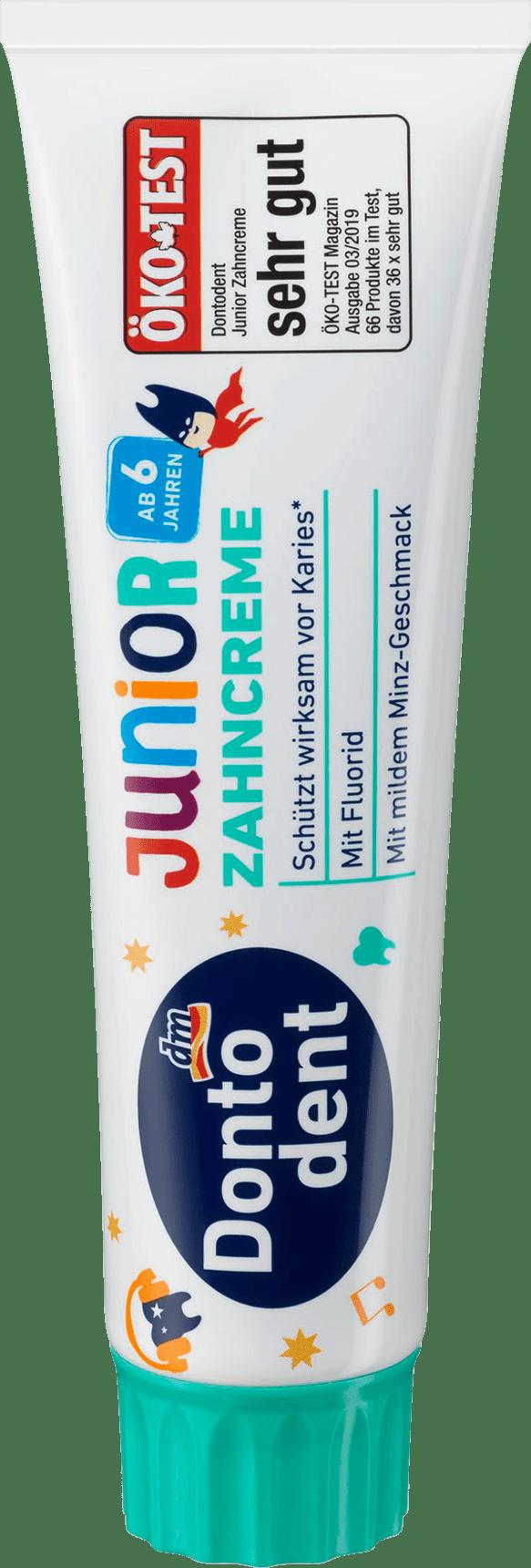 Dontodent Junior zobu pasta bērniem no 6 gadiem 100ml