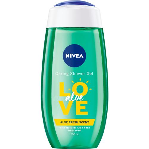Nivea Love Aloe Gel 250ml