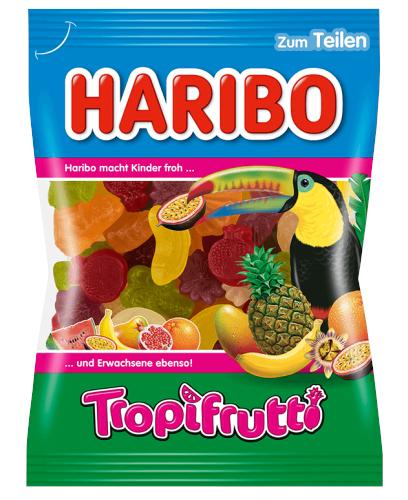 Haribo Tropifrutti želejas konfektes 100g