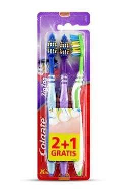 Colgate ZigZag zobu birstes x3