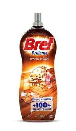 Bref Brillante superfici pregiate universāls tīrīšanas līdzeklis visām virsmām ar ziedu un riekstu aromātu 1250ml