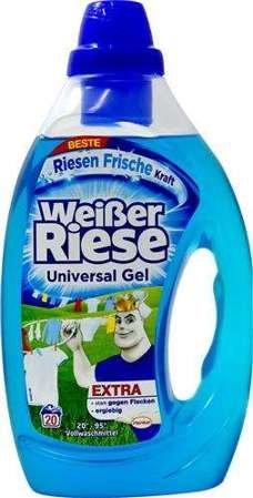 Weisser Riese Universal x20 veļas mazgāšanas želeja 1L