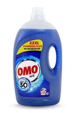 OMO veļas mazgāšanas želeja baltai veļai x100 5l