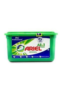 Ariel all-in-1 Original universālas kapsulas veļas mazgāšanai x35