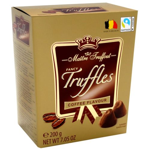 Maitre Truffout Fancy Truffles Coffee 200g