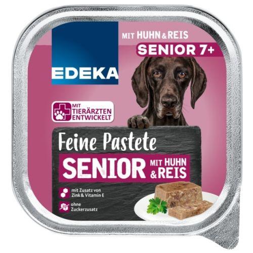 Edeka Feine Pastete Senior 7+ 300g