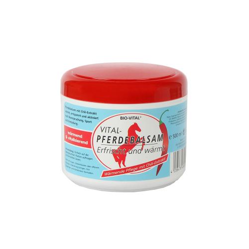 Bio-Vital® zirgu balzams (sildošs) 500ml