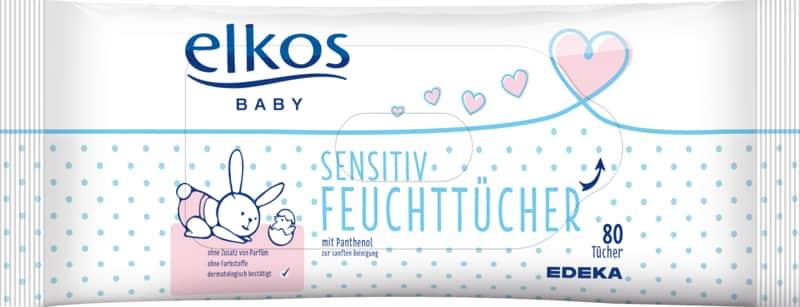 Elkos Sensitive Wipes x160