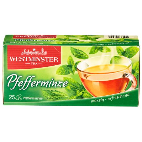 Westminster pipermētru tēja x25   Multum.lv