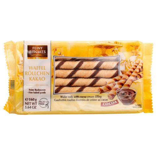 Feiny Biscuits Kakao vafeļu nūjiņas 160g