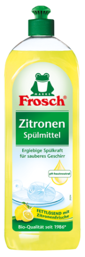 Frosch Zitronen trauku mazgājamais līdzeklis 750ml